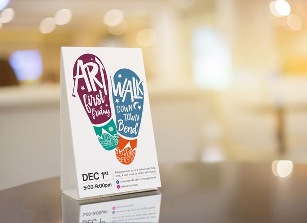 City of Bend Art Walk logo