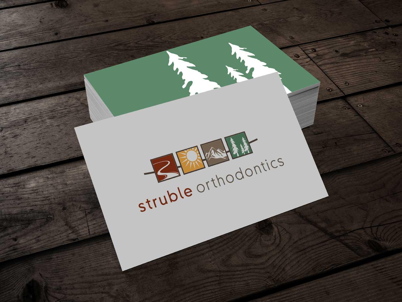 Struble Orthodontics Branding and Logo Design